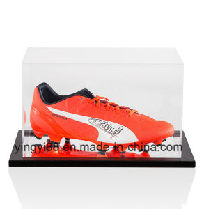 Top Quality Acrylic Football Boot Display Case pictures & photos
