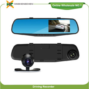 "1080P Video Recorder 4.3"" TFT LCD Dual Camera Car DVR pictures & photos"