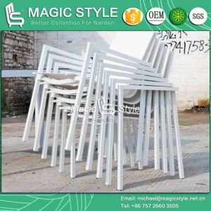 Four Colors Textil Outdoor Chair and Table for Hotel pictures & photos
