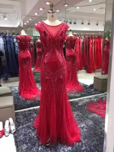 Red Evening Dress, Party Gown, Prom Dress, Fashion Beading Dress pictures & photos
