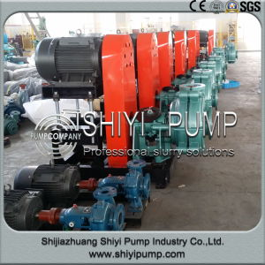 Metal Lined Horizontal Centrifugal High Pressure Slurry Pump pictures & photos