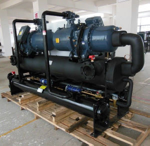 285kw Water Cooled Screw Chiller with Hanbell Compressor pictures & photos