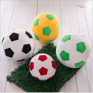 Popular 7D Siliconized Fiber Soccer Ball Soft Pillow pictures & photos