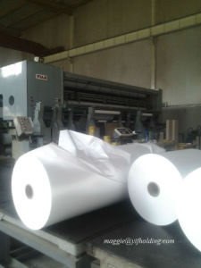 White Pearlized BOPP Film for Label Printing pictures & photos