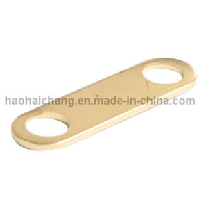 Metal Stamping 0.8mm H65 Brass Terminal Connection with M4 Thread pictures & photos