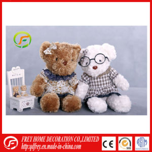 White Huggable Plush Soft Teddy Bear with T Shirt pictures & photos