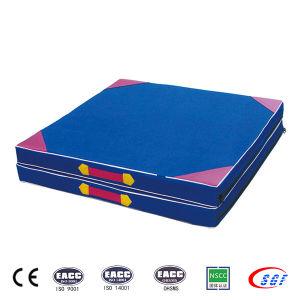 Folding Hand-Held Gymnastics Wedge Mat Air Mattress pictures & photos