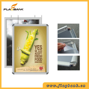 Advertising A4 Aluminium Snap Frame/Clip Frame pictures & photos