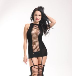 Adult Product Ladies Sexy Halter Neck Hollow out Fishnet Suit pictures & photos