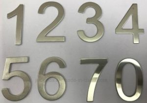 Commercial Stainless Steel 304 Door Number Plate and House Number pictures & photos