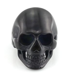 Scary Stainless Steel Black Skull Jewelry Ring for Men pictures & photos
