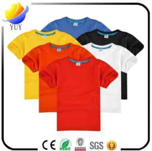 High Quality 100% Cotton Made of Adult T Shirt and Children T Shirt and Sports Shirt and Pole Shirt for Clothing and Promotional Products pictures & photos