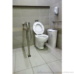 Wall Floor Mounted 304 Stainless Steel Grab Bar for Disabled pictures & photos