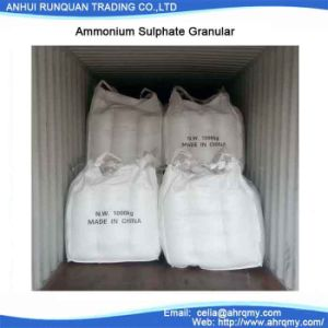 "High Conent of N 21% Ammonium Sulphate Granular or Powder ""Fertilizer"" pictures & photos"