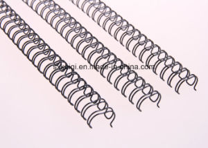 """Twin Ring Binding Wire for White 1/4"""" 34loops pictures & photos"""