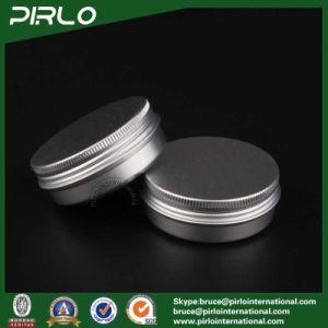 60g, 2oz Silver Aluminum Cosmetic Jars Tin Cream Jars Aluminum Jars for Sale pictures & photos