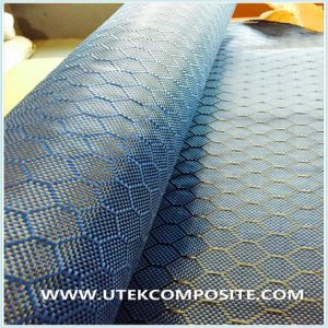 Blue Carbon Jacquard Fabric for Decoration pictures & photos