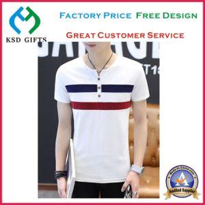 Men`S Popular Fashion Plain T-Shirt pictures & photos