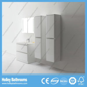 Modern Both Floor and Wall Mounted Bathroom Cabinets with 2 Side Units (BF379D) pictures & photos