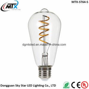 LED candle bubls MTX -- LED bulbs Retro E27 3W Edison Vintage LED Bulb Candle Light Lamp 110V/220V G125 Starry Bulb pictures & photos
