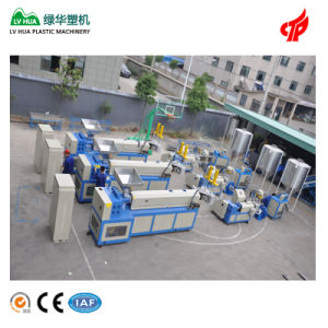 Ce Hard Scrap Two Stage Plastic Pelletizing Machine pictures & photos