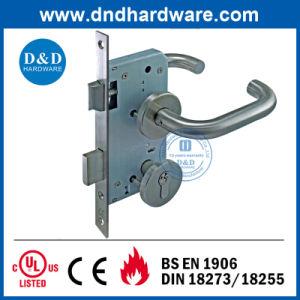 Ss304 Lever Door Handle for Metal Doors pictures & photos