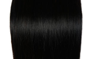 Brazilian Virgin Hair Straight Human Hair Extension Natural Black Hair Weave pictures & photos