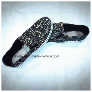 Student Flat Fabric Footwear Made in China pictures & photos