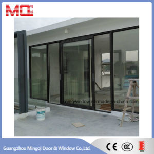 Standard Size Profile Aluminum Glass Door Design pictures & photos