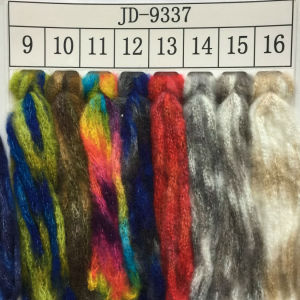 Spray Fiber Handknitting Yarn Jd9337 pictures & photos