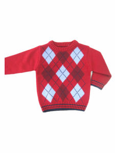 100 % Cotton Velvet Knitted Apparel for Kids pictures & photos