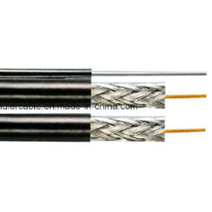 Factory Price 305m Wooden Spool Al Brading Coverage 95% RG6 Coaxial Cable pictures & photos