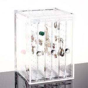 Advertising Acrylic Jewelry Display Box for Earring pictures & photos