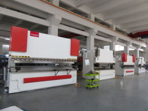 100t 3200mm Electro-Hydraulic Servo Sheet Metal Plate CNC Bending Machine pictures & photos