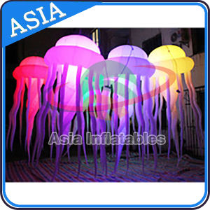 2016 Hot Sale LED Inflatable Jellyfish, Color Changing Light Jellyfish for Event Decoration pictures & photos