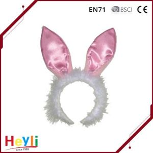 Satin Cute Bunny Ears Hairbands Headbands for Kids Easter Girls pictures & photos