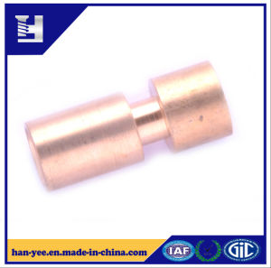Custom Stud Pin Brass Milling Grooved Connector pictures & photos