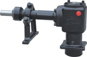 1: 1 Ratio Harvester Right Angle Gearbox 90 Degree Mounted with Arc-Shaped Bevel