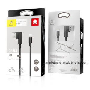 Yart Elbow Type for Lightning to USB Cable for iPhone Wired Charging Data Lines 1m pictures & photos