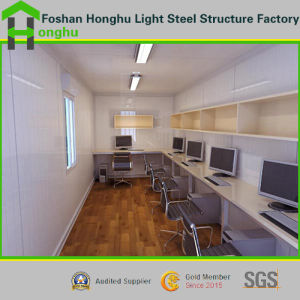 Steel Building Labor Camp Container House Easy Installation pictures & photos