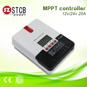 LCD Display MPPT Solar Charge Controller 12V 24V 48V 60A pictures & photos