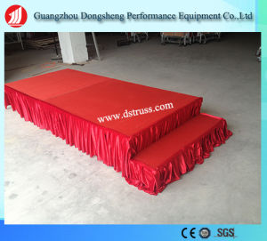 High Quality Moving Stage Aluminium Alloy Folding Stage pictures & photos