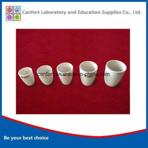 Porcelain Refractory High Wall Crucible for Laboratory pictures & photos