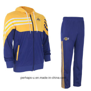 High-End Unisex Cotton Terry Tracksuit with Custom Logo pictures & photos