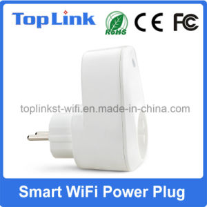 EU Type Wireless WiFi Power Switch Socket with APP Support Alexa pictures & photos