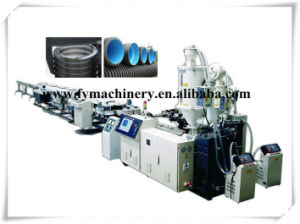 PE/PP Double Wall Corrugated Pipe Production Line pictures & photos