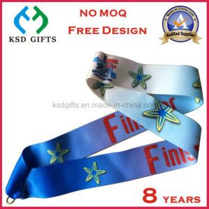 Cmyk Printed Make Your Own Design Reward Medal Lanyard pictures & photos