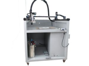 Automatic 3 Axis Glue Dispensing Machine/ Textile Coating Machine (LBD-RD3A001) pictures & photos