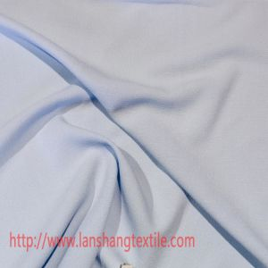 Bamboo Joint Fake Linen Chiffon Polyester Fabric for Skirt Dress pictures & photos