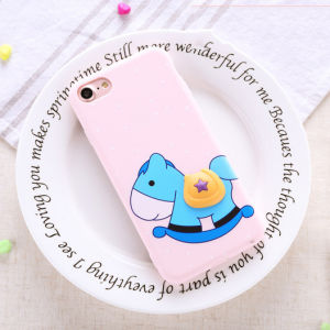Universal Silicone Cartoon Rubber Phone Case for iPhone 7 pictures & photos